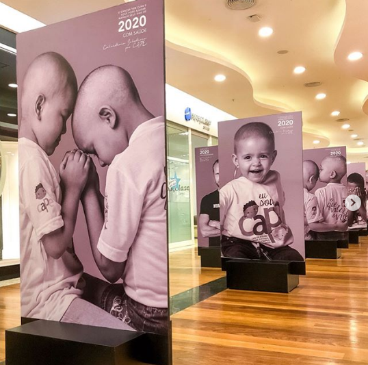"""Shopping Diamond Mall recebe a exposição """"Calendário Solidário"""""""